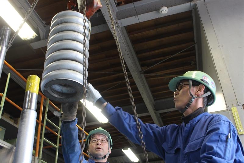 原子力発電所、火力発電所のバルブメンテナンス